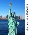 New York  The Statue Of Libert...