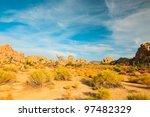 Hidden Valley Rock Joshua Tree...