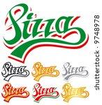 pizza logo | Shutterstock .eps vector #9748978