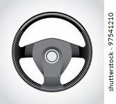 steering wheel   realistic... | Shutterstock .eps vector #97541210