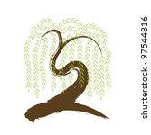 vector  artistic asian... | Shutterstock .eps vector #97544816