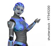 robot | Shutterstock . vector #97545200