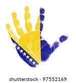 bosnia and herzegovina flag... | Shutterstock . vector #97552169
