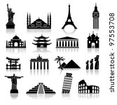 Set Of Icons On The Topic Of...