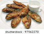 fried fish | Shutterstock . vector #97562270
