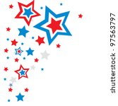 Holiday Background Stars