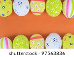easter eggs | Shutterstock . vector #97563836