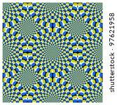 Vector Optical Illusion Spin...