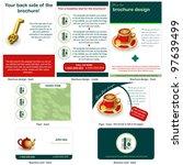 tea stationary   brochure...   Shutterstock .eps vector #97639499