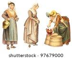 Historical Milk Maid Fashion  ...