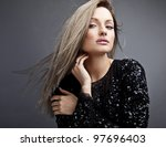 young sensual   beauty woman in ... | Shutterstock . vector #97696403