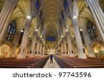 Interior Of St. Patrick's...