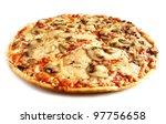 Mushroom Pizza Vegetarian On...