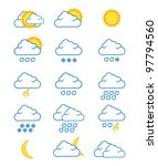 weather icons | Shutterstock . vector #97794560
