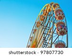 ferris wheel at  sunrise | Shutterstock . vector #97807730