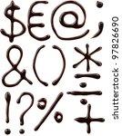 Symbols Set Written With...