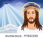 christ is risen   portrait of...