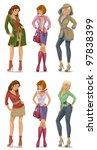 woman | Shutterstock .eps vector #97838399