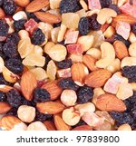 dried fruits | Shutterstock . vector #97839800