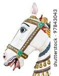 Vintage Carousel Horse Head...