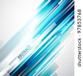 straight lines abstract vector...   Shutterstock .eps vector #97853768