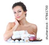 spa woman | Shutterstock . vector #97861700
