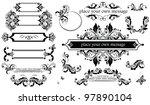 vintage headers | Shutterstock .eps vector #97890104