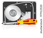 Computer Hard Disk Drive And...