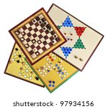 Various Board Games Of Ludo ...