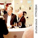 verona   april 08 wine tasting... | Shutterstock . vector #97943864