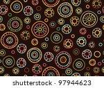 seamless retro pattern. | Shutterstock .eps vector #97944623