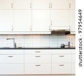 Stock photo interior of a kitchen 97954649