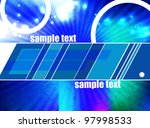 abstract background   eps 10... | Shutterstock .eps vector #97998533