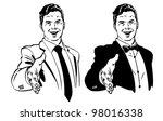 vector illustration of men...   Shutterstock .eps vector #98016338