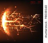 web technology | Shutterstock .eps vector #98038160