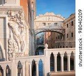 Bridge Of Sighs In Venice  ...