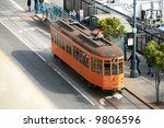 """a view of """"the streets of san...   Shutterstock . vector #9806596"""
