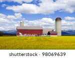 Red Farm In Colorado With...