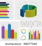 infographics vector | Shutterstock .eps vector #98077340