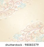 design vector ornate vintage... | Shutterstock .eps vector #98083379