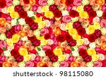 Assorted Roses. Colorful Flowe...