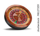roulette wheel. 3d image....   Shutterstock . vector #98127359