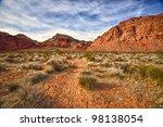 A Faint Dirt Trail Leads Into...