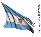 argentina flag   collection no_4 | Shutterstock . vector #98175008