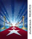Red Carpet To The Movie Stars...