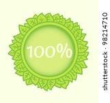 eco badge | Shutterstock .eps vector #98214710