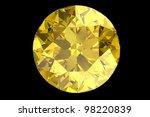 yellow sapphire | Shutterstock . vector #98220839