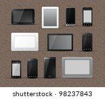 different generic models of...   Shutterstock .eps vector #98237843