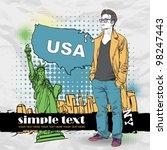 vector illustration of the... | Shutterstock .eps vector #98247443