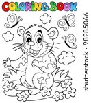 Coloring Book With Cartoon...